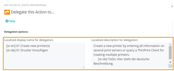 New localization options for Actions in the ScriptRunner Admin App