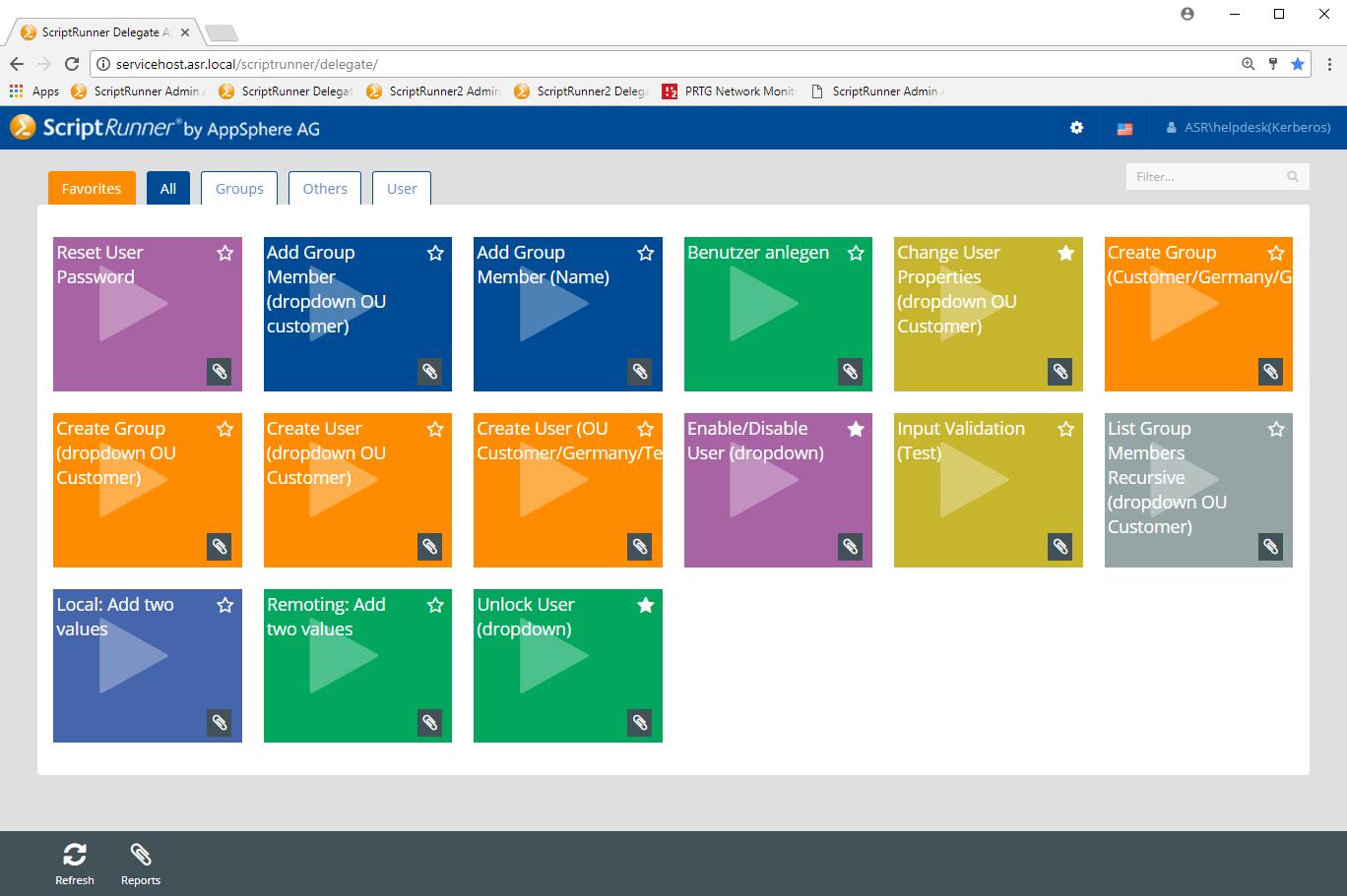 Einfache Delegation von PowerShell Scripten mit der ScriptRunner Delegate App