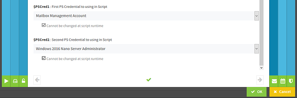 ScriptRunner - Konfiguration von zusätzlichen Credentials - PowerShell