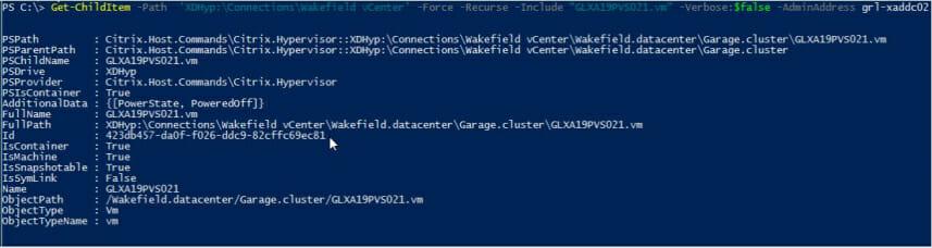 Screenshot: PowerShell ISE